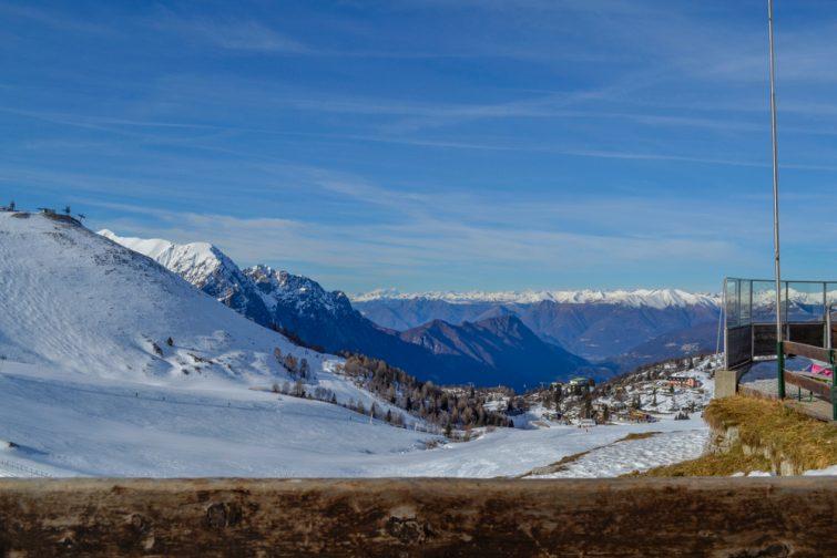 Skier près de Côme