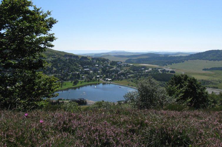 Lac des Hermines, Auvergne
