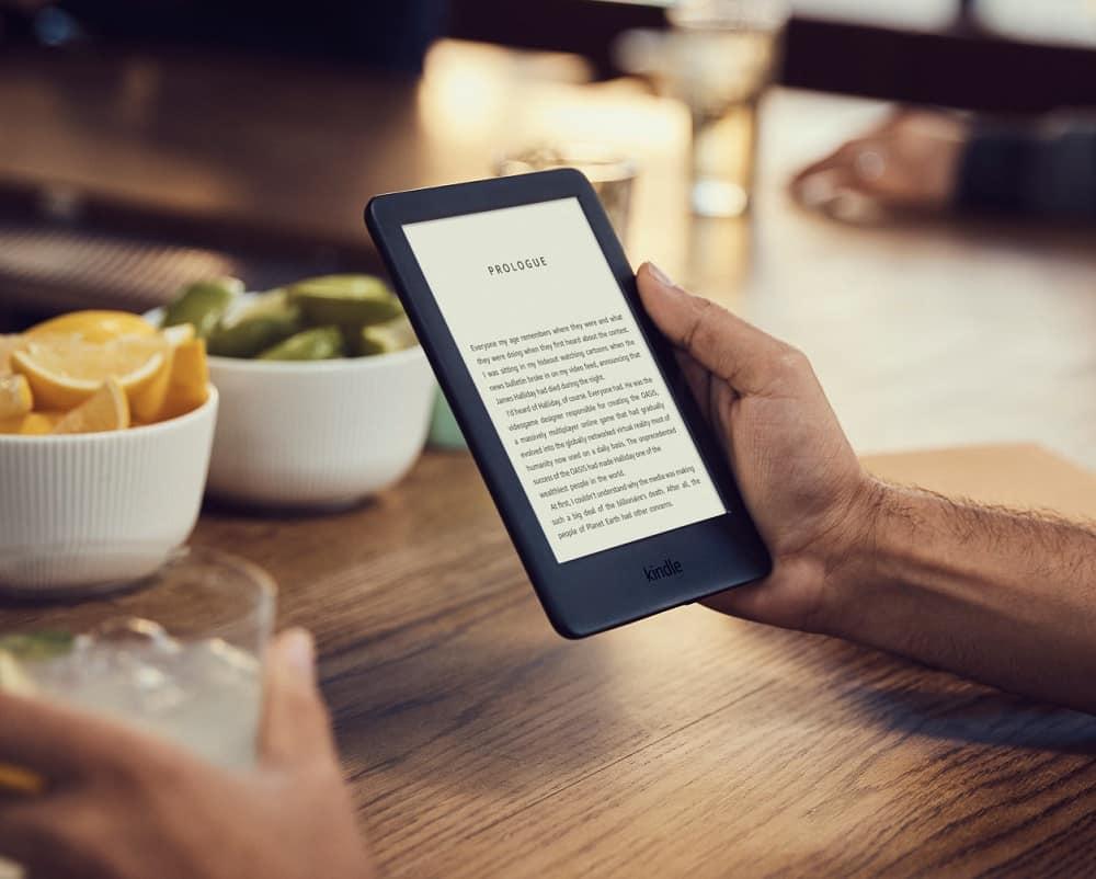 Une liseuse Kindle