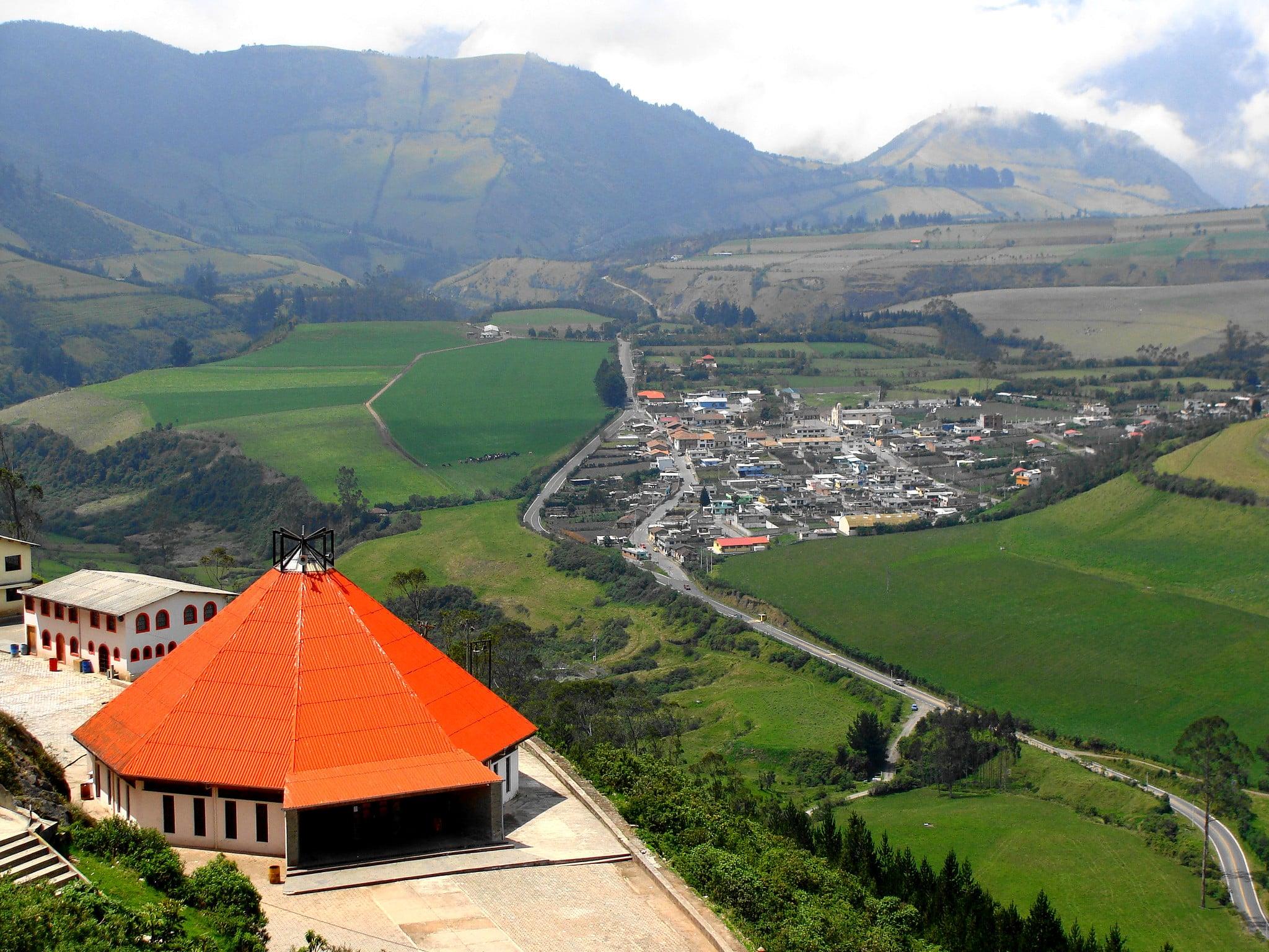 Lloa village