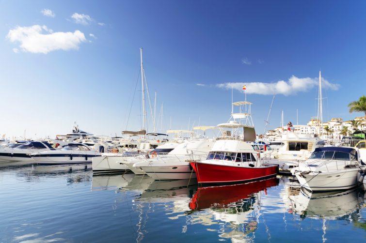 Location bateau incontournables Marbella