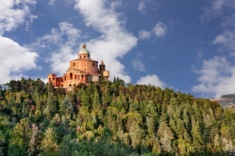 Le sanctuaire Madonna di San Luca, à Bologne