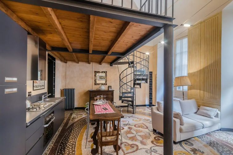 Airbnb à Gênes : la maison des oies