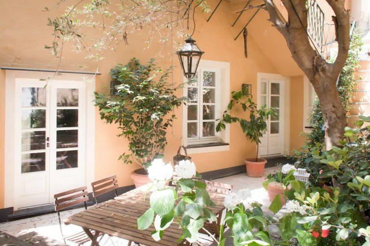 Airbnb à Gênes : maison médiévale