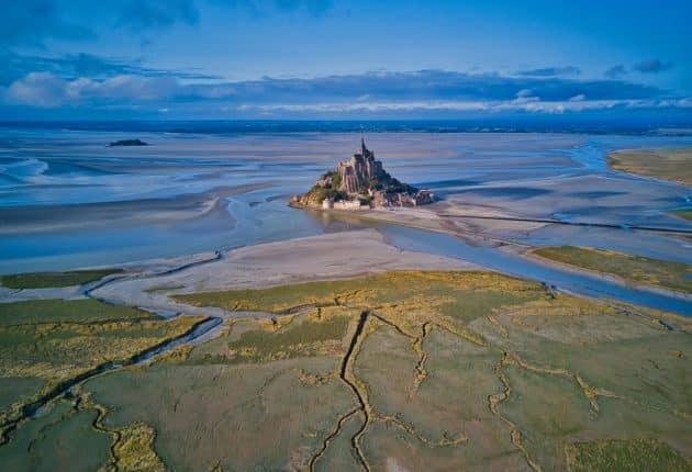 Le phénomène des marées du Mont Saint-Michel