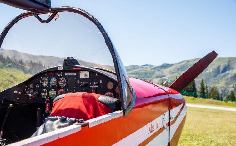 Meribel avion