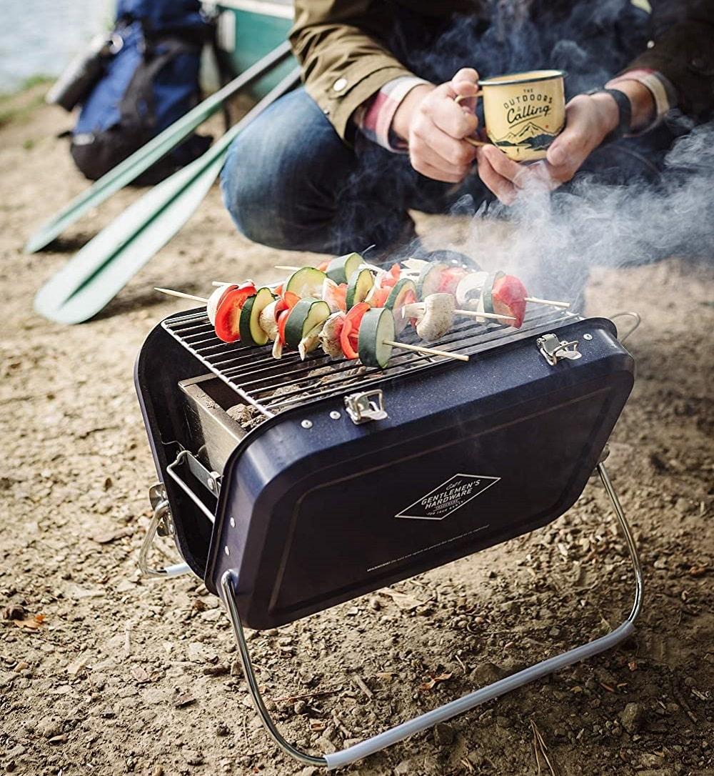 Un mini-barbecue