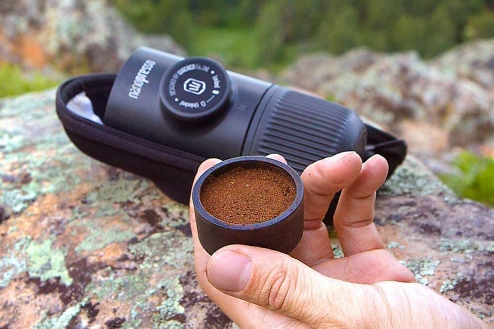 Une machine à café portable