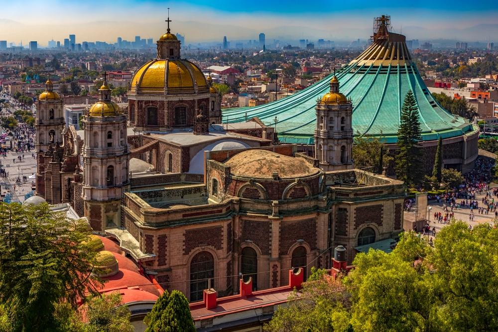 Sanctuaire Notre-Dame de Guadalupe, Mexico