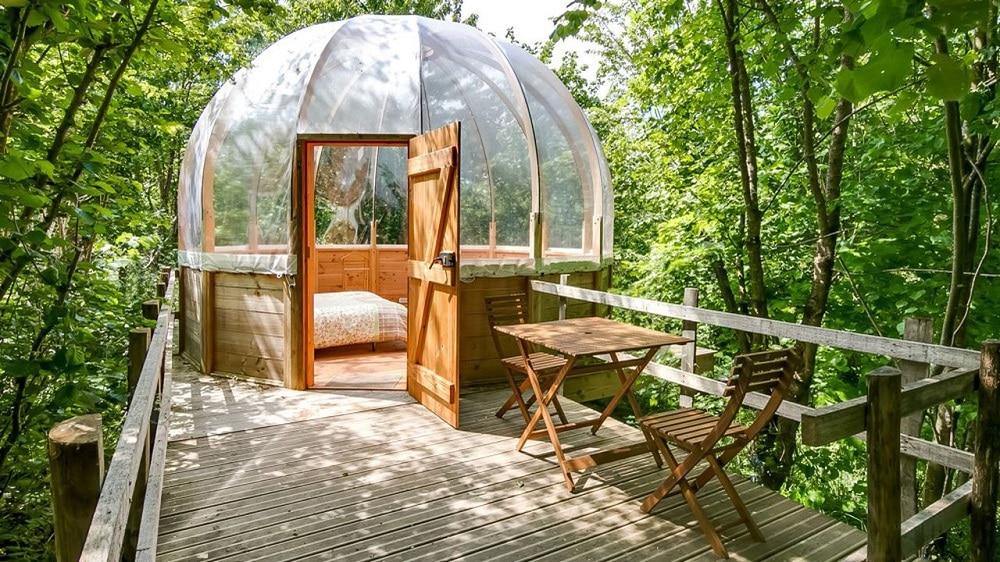 Une nuit dans une bulle