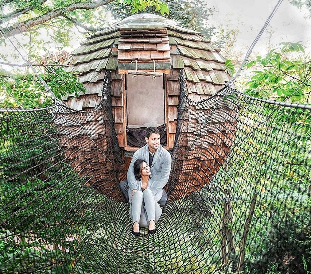 Une nuit insolite dans une cabane dans les arbres