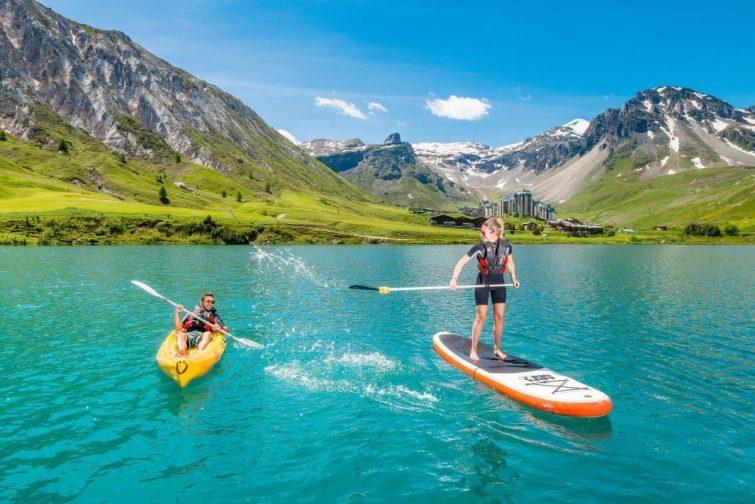 paddle tignes