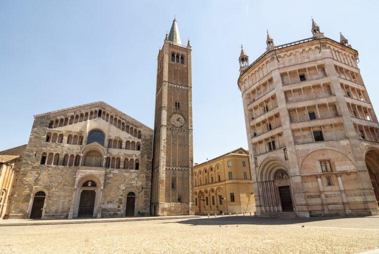 La Cathédrale (le Dôme) de Parme