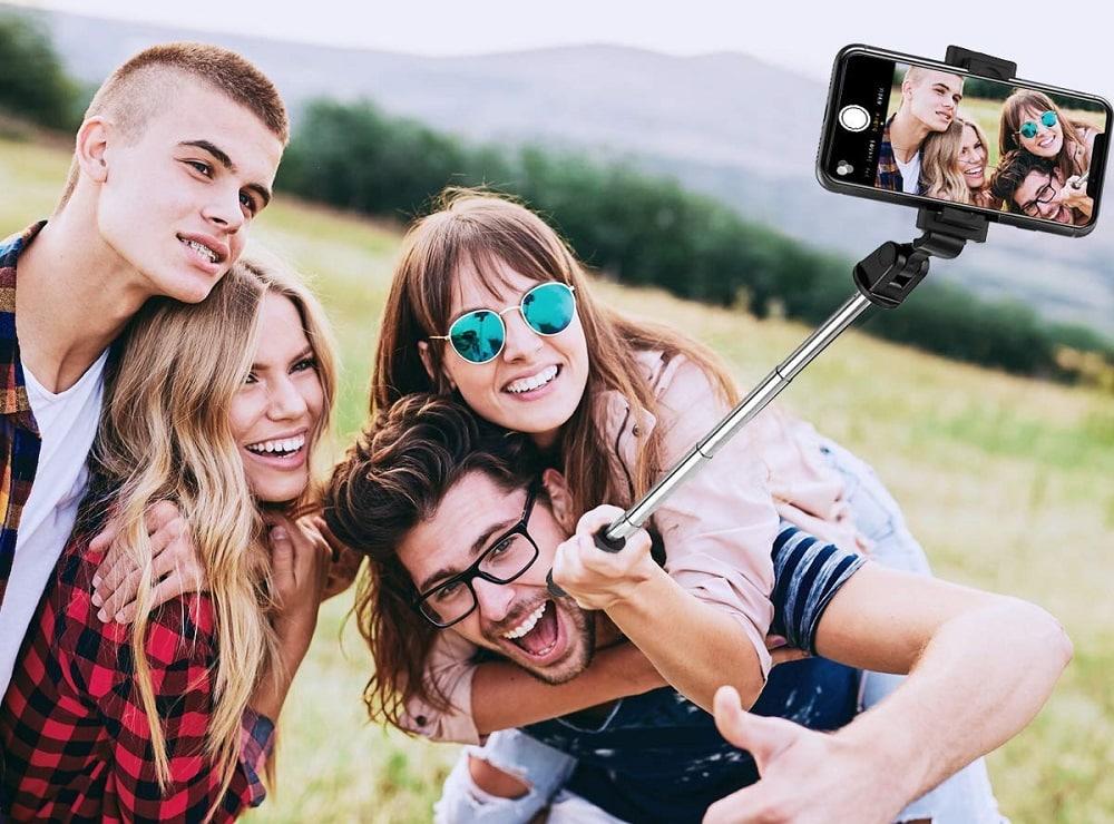 Une perche à selfie