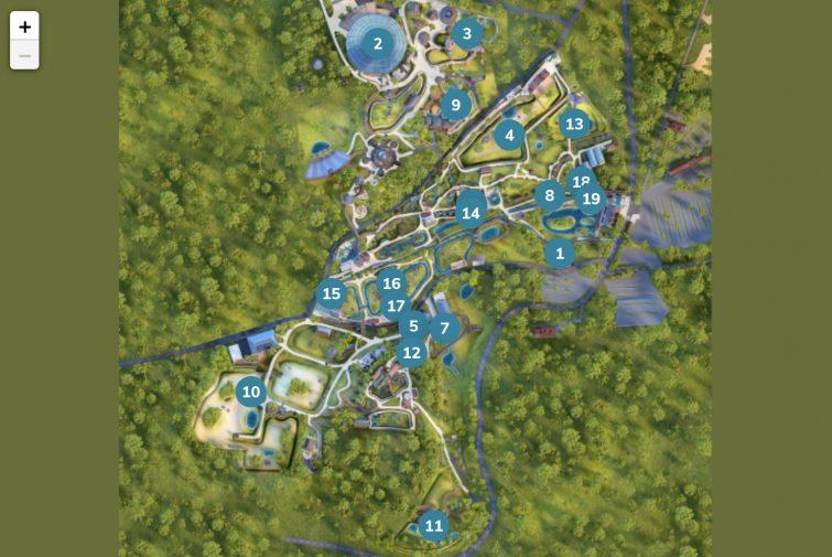 Plan animaux zoo de beauval