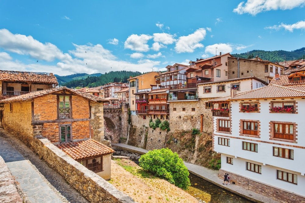 Potes village cantabrie