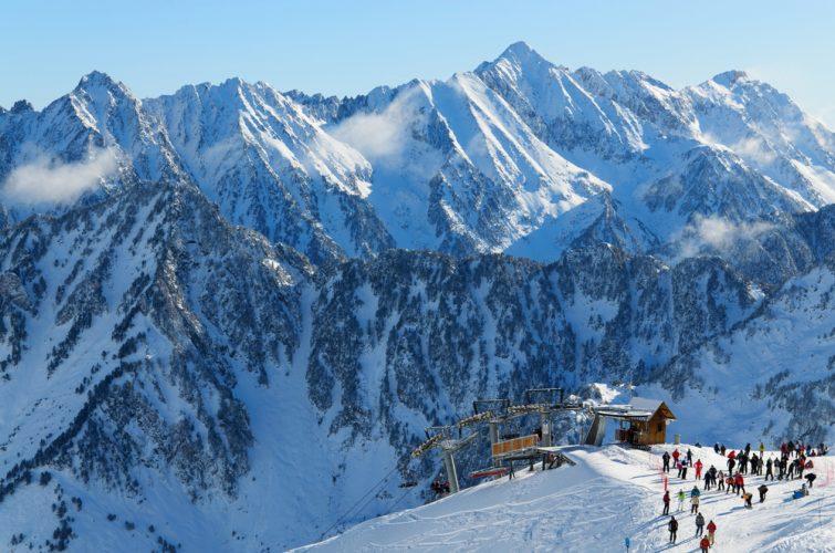 Stations de ski familiales des Pyrénées : Cauterets