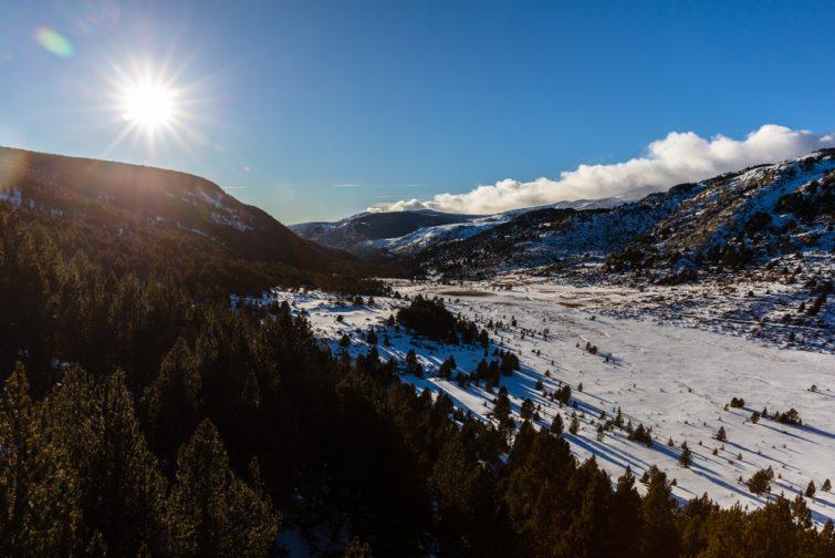 Stations de ski familiales des Pyrénées : Font-Romeu