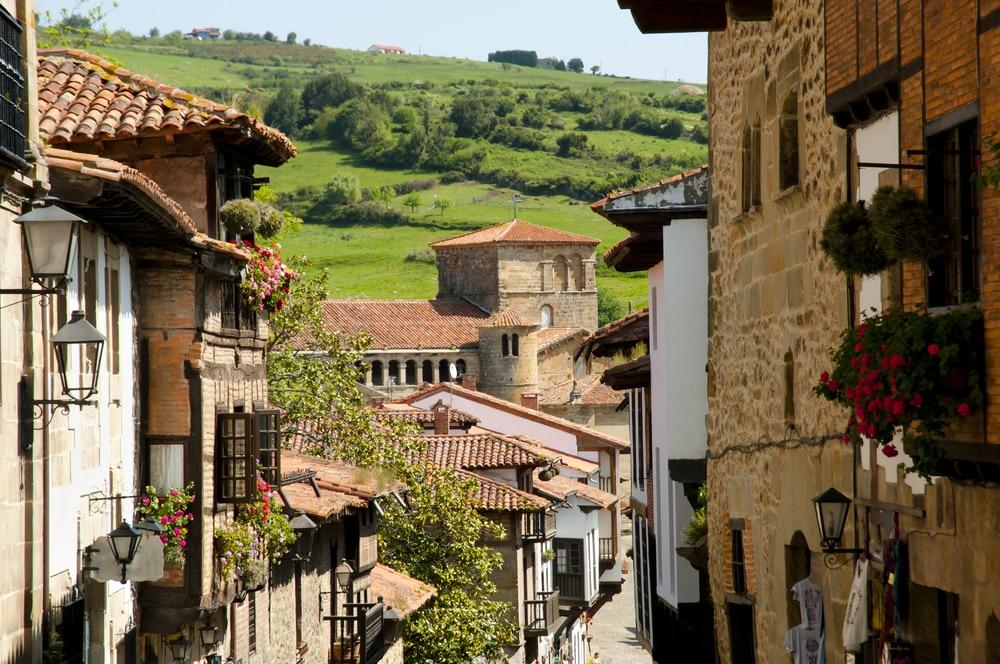 Santillana del Mar village cantabrie