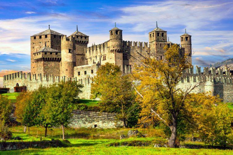 Chateau de Fénis Aoste
