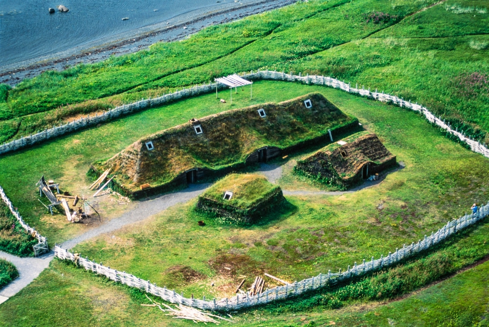 l'Anse aux Meadows - Vikings