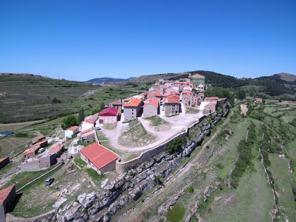 Villages d'Aragon : PuertoMingalvo Espagne