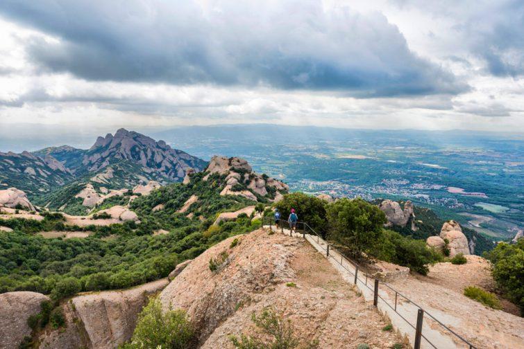 Randonnée Montserrat Barcelone