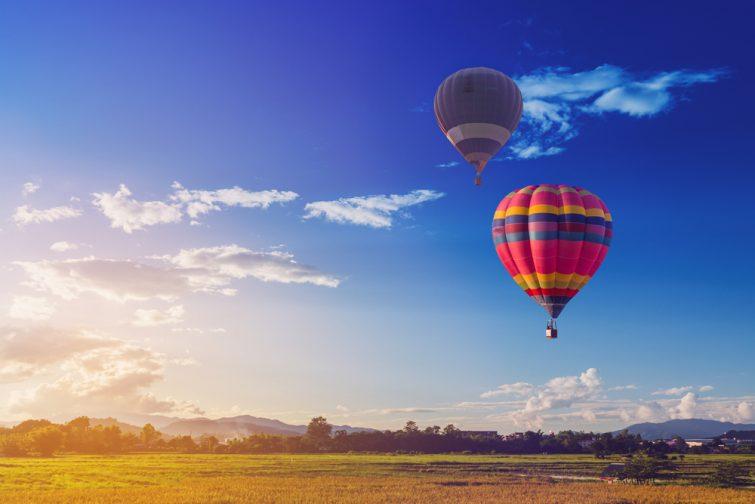 activité montgolfière