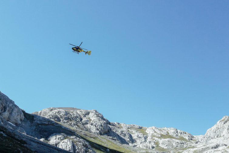 Hélicoptère Parc des Alpilles
