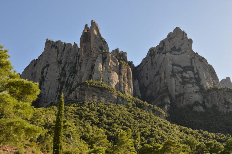 Escalade Montserrat Barcelone