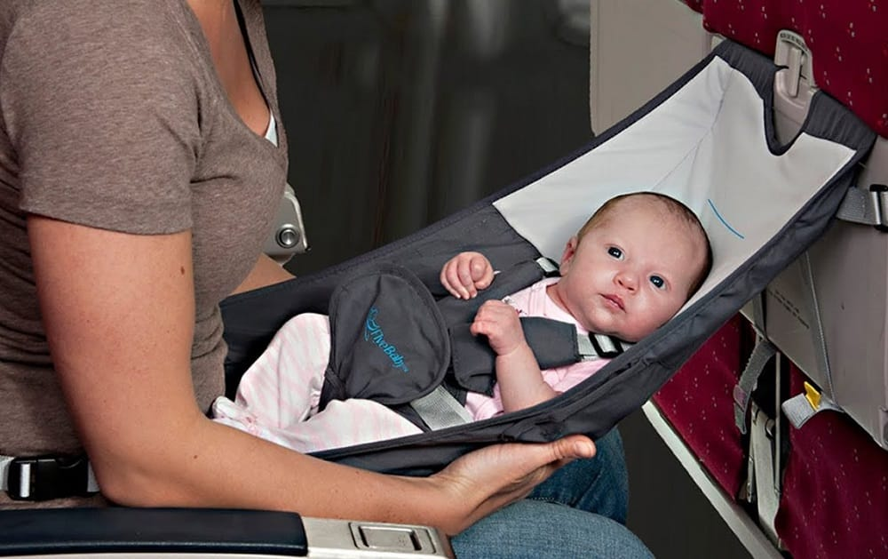 Un siège d'avion pour bébé