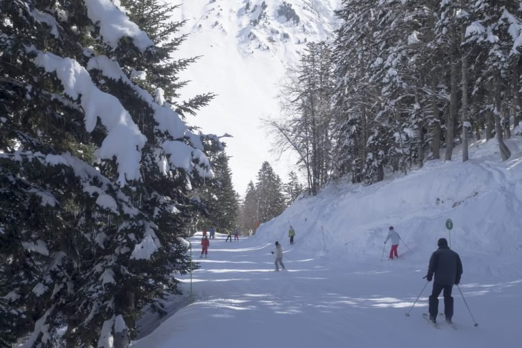 Ski de fond à La Mongie