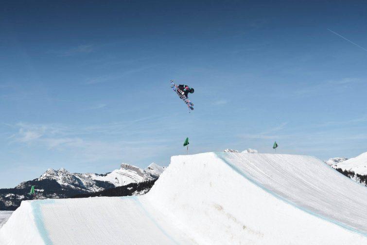 Ski freestyle la Clusaz