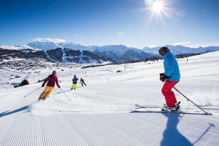Ski aux saisies