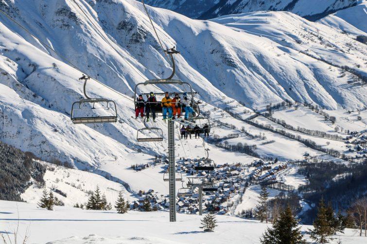 ski aux sybelles
