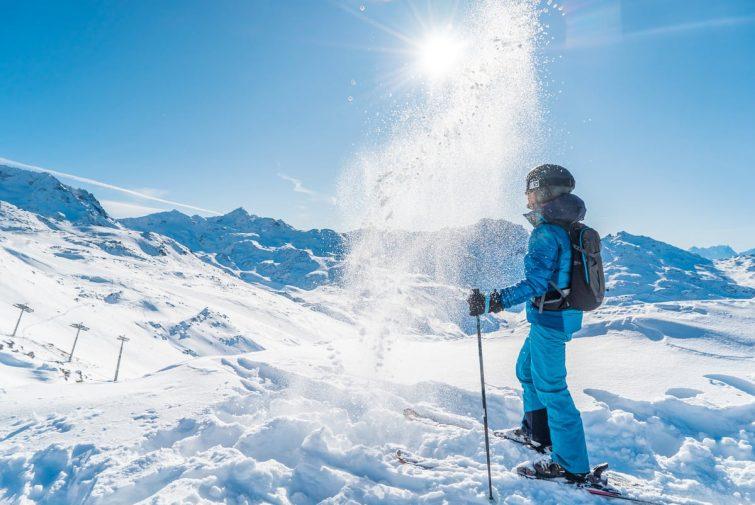 Ski trois vallées