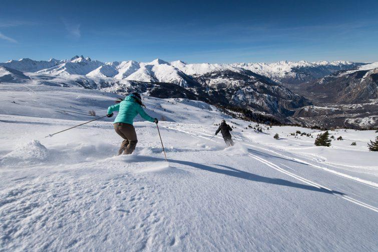Ski activité outdoor à Valmeinier