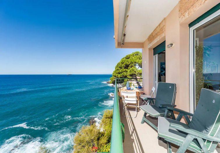 Airbnb à Gênes : la maison nervi