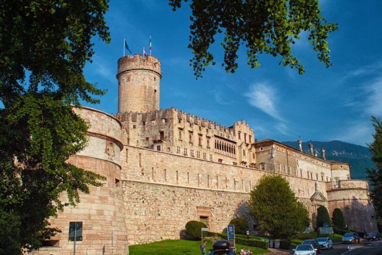 Visiter Trente : Le Château du Buonconsiglio