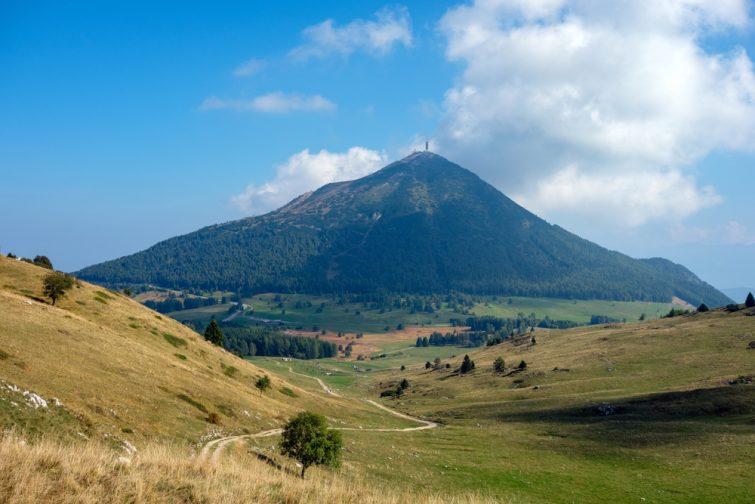 Visiter Trente : Le Monte Bondone