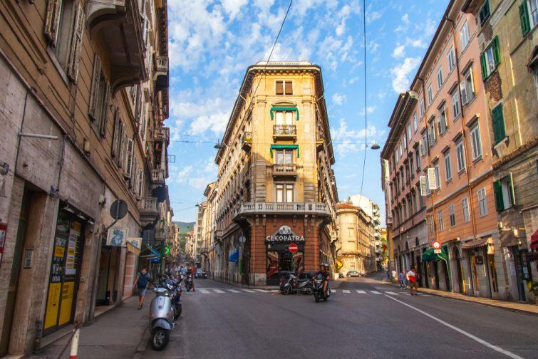 Le centre historique de Trieste