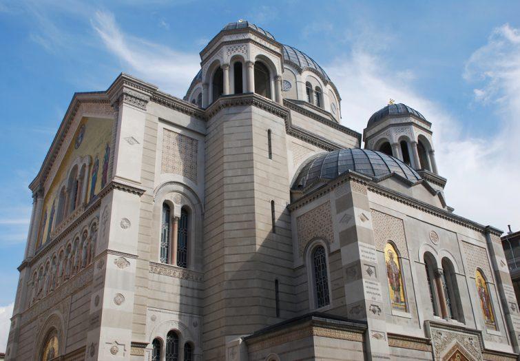 L'Église de la Sainte-Trinité-et-Saint-Spiridion de Trieste