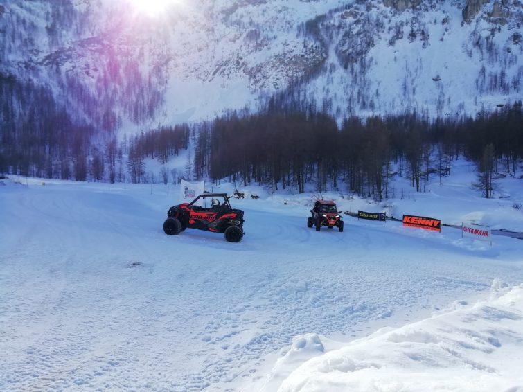 Activités outdoor à Val d'Isère : buggy sur neige
