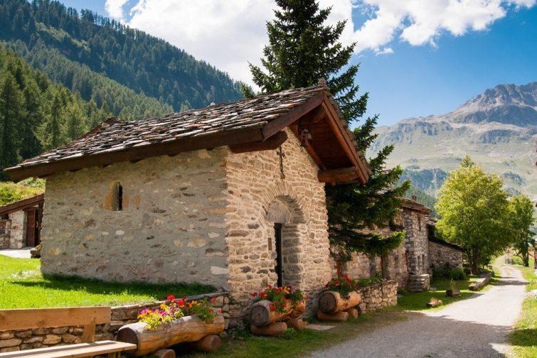 Sur le chemin des 7 chapelles, Val d'Isère