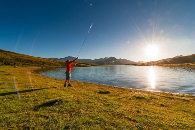 Pêcher à Val d'Isère