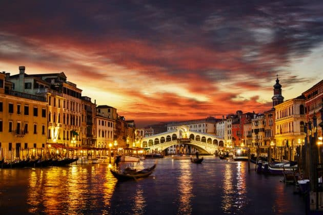Les 10 hôtels les plus romantiques de Venise