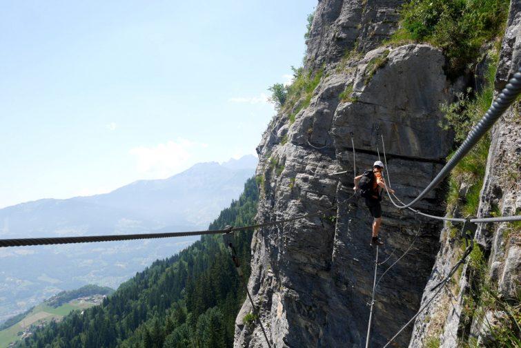 Via ferrata Alpes