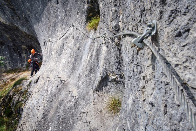 Via ferrata megève