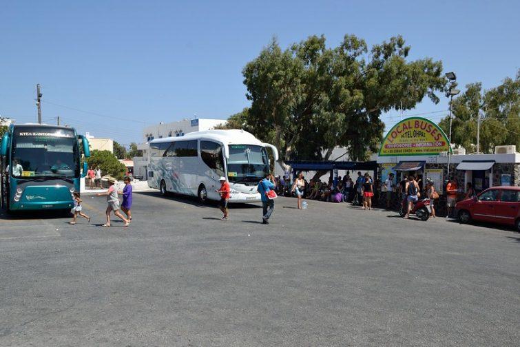 Bus Santorin