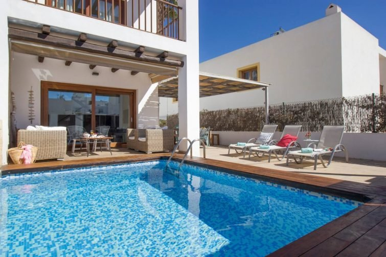 Nice house 6pax in Ibiza with pool
